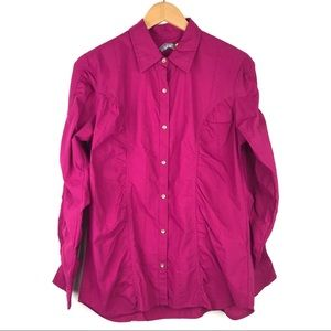 SALE Cabela's Lifestyle Collection ruched shirt